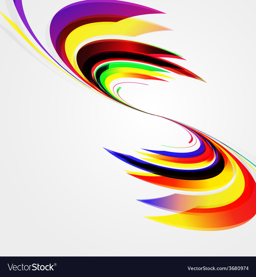 Abstract background with bent lines vector | Price: 1 Credit (USD $1)