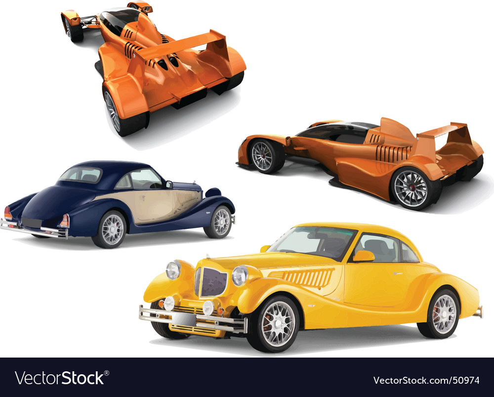 Auto models vector | Price: 1 Credit (USD $1)