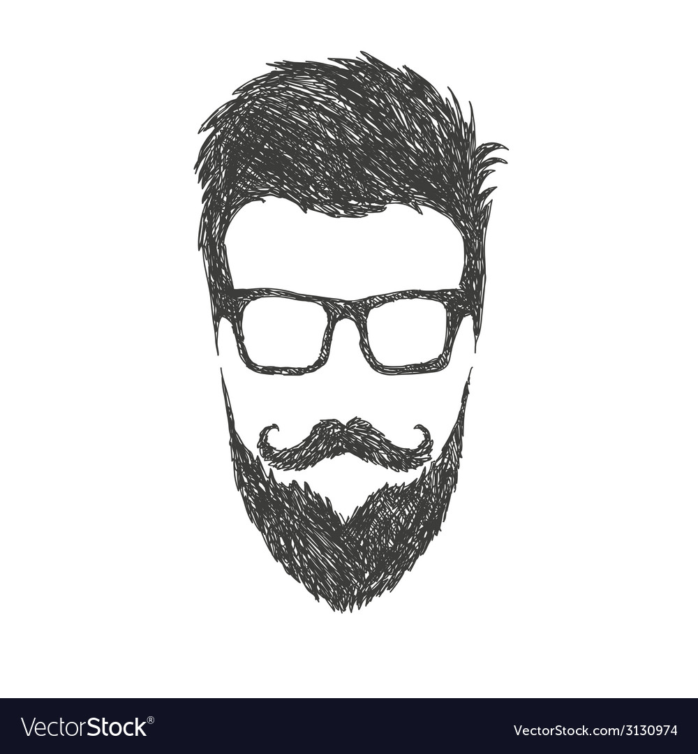 Fashion silhouette hipster style vector | Price: 1 Credit (USD $1)