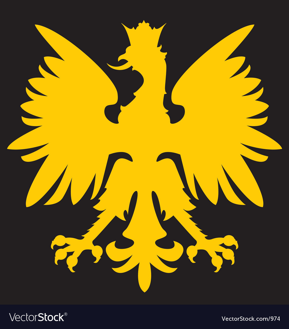Heraldry eagle vector | Price: 1 Credit (USD $1)
