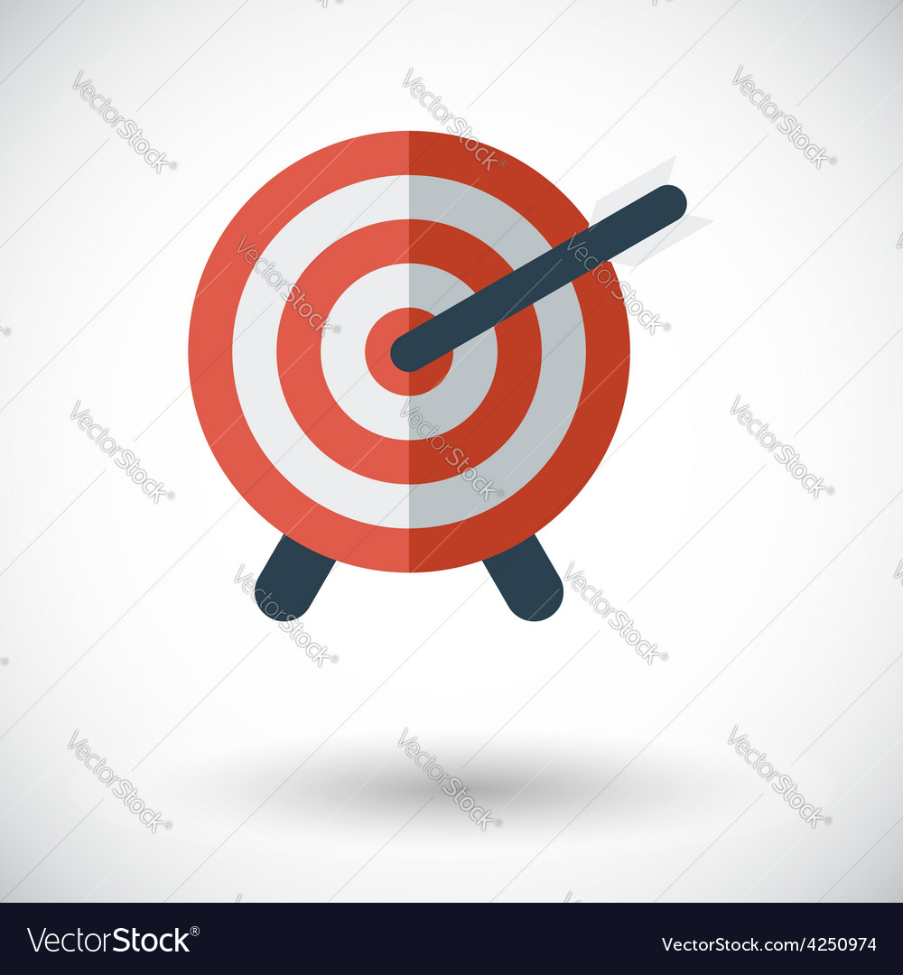 Target with dart vector   Price: 1 Credit (USD $1)