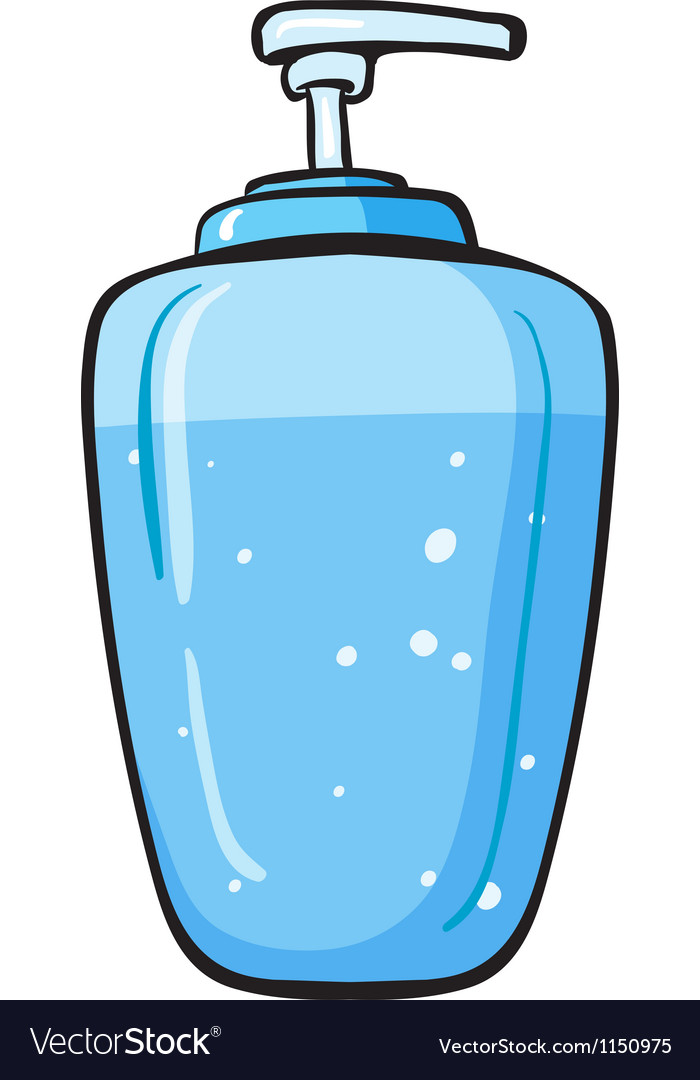 A liquid soap container vector | Price: 1 Credit (USD $1)