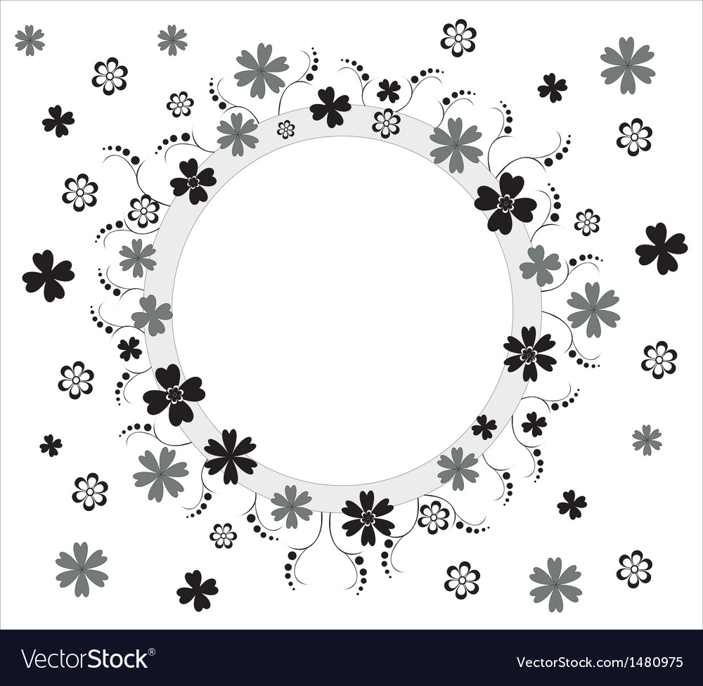 Beautiful abstract floral background vector | Price: 1 Credit (USD $1)