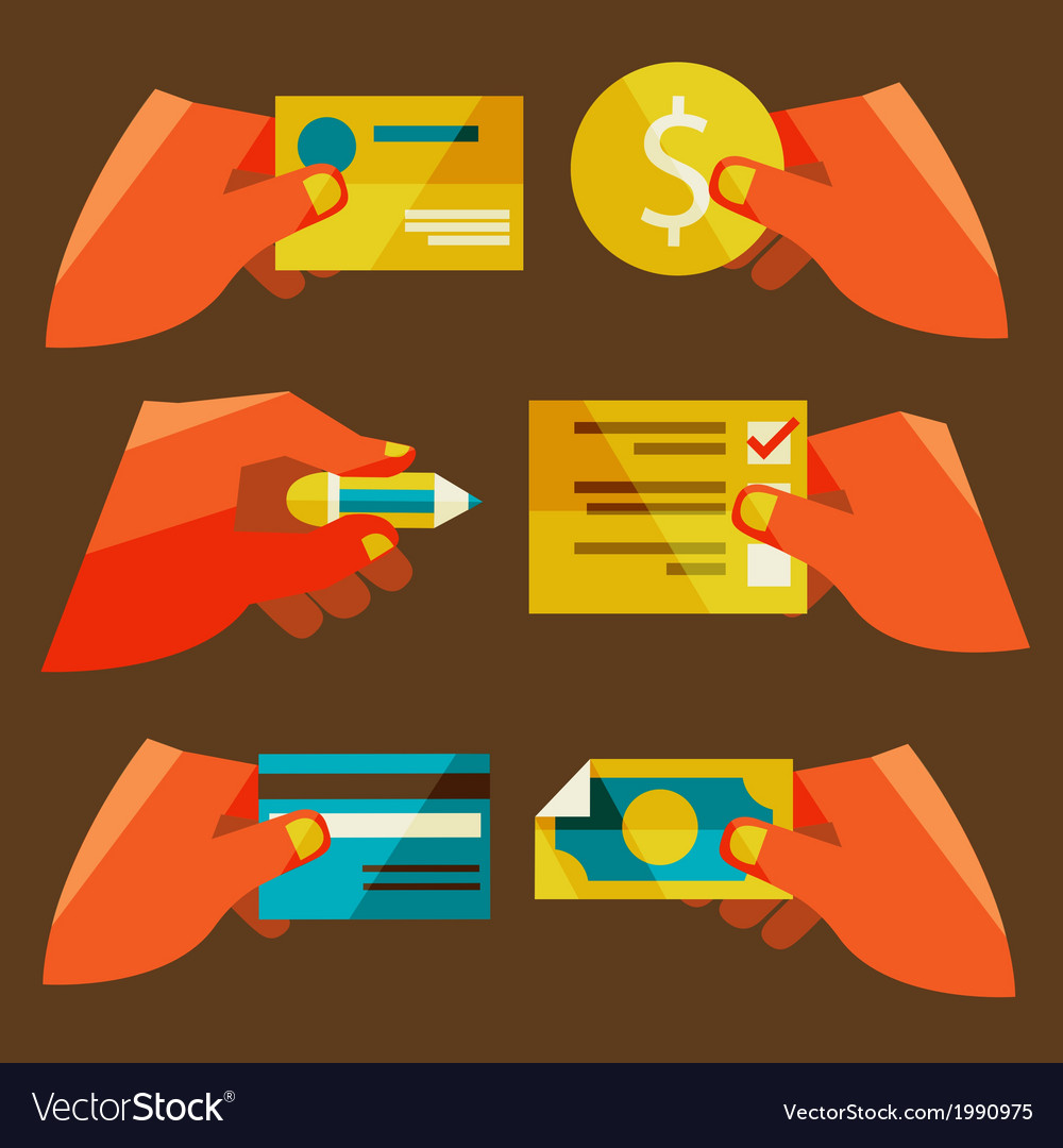 Clients purchasing work vector | Price: 1 Credit (USD $1)