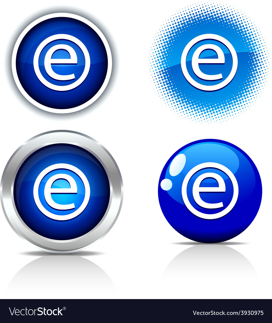 Enternet buttons vector | Price: 1 Credit (USD $1)