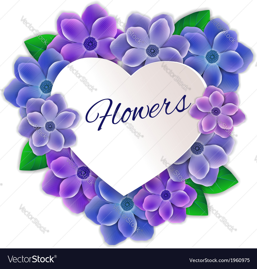 Frame of flowers vector   Price: 1 Credit (USD $1)