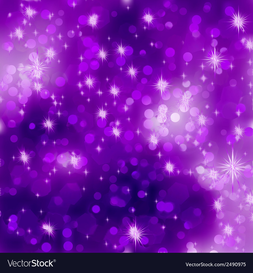 Glittery purple christmas background eps 8 vector | Price: 1 Credit (USD $1)