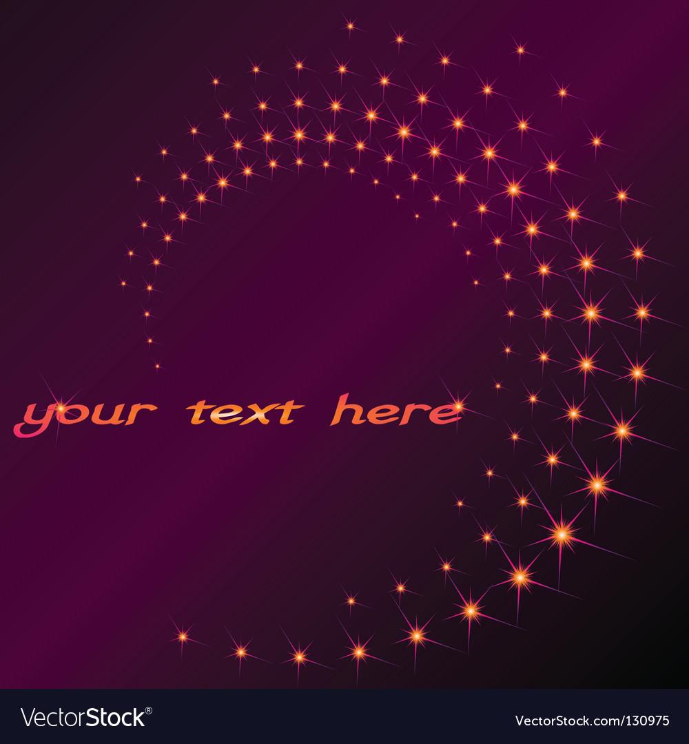 Sparkly spiral vector | Price: 1 Credit (USD $1)