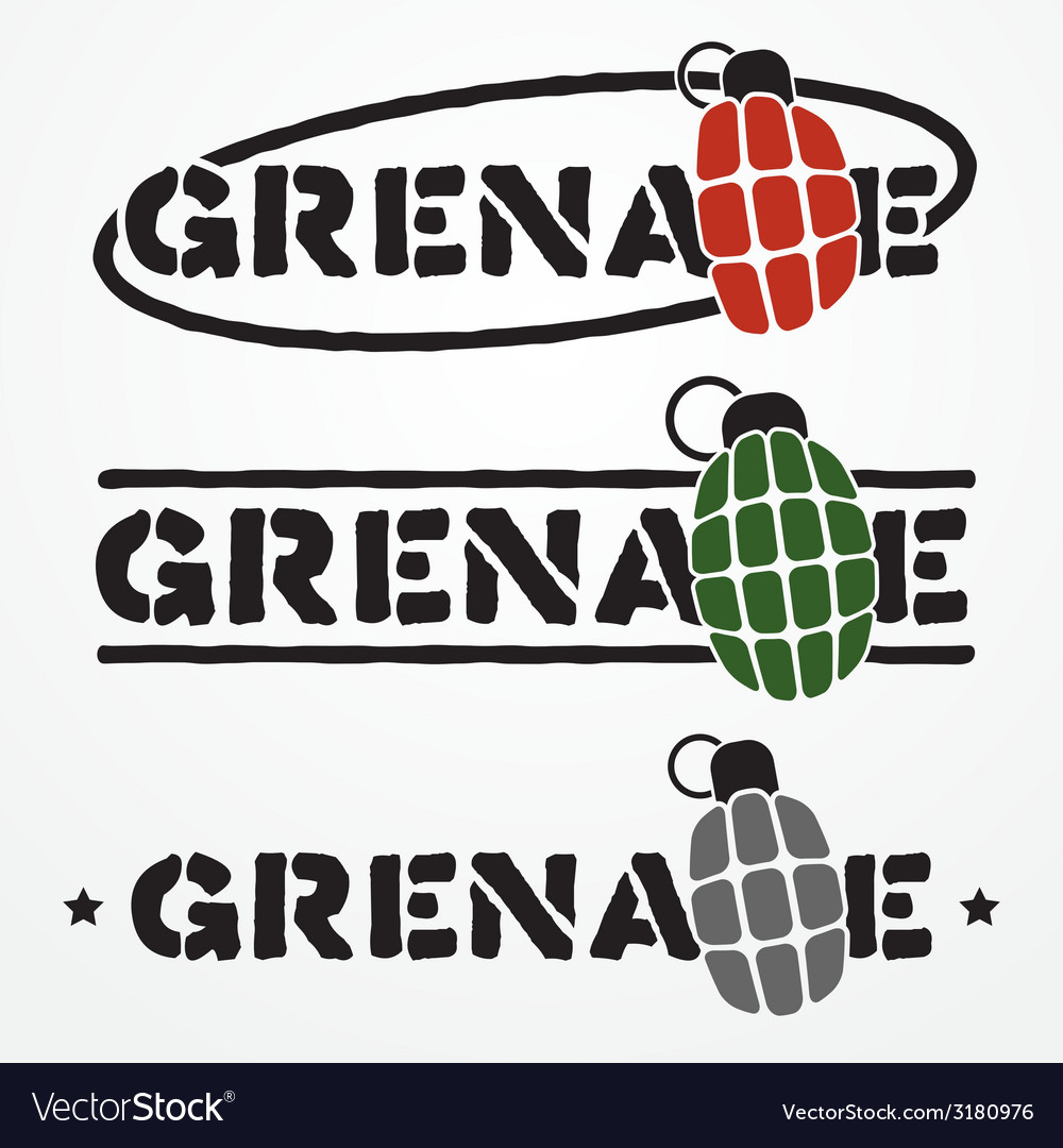Grenade logo vector | Price: 1 Credit (USD $1)