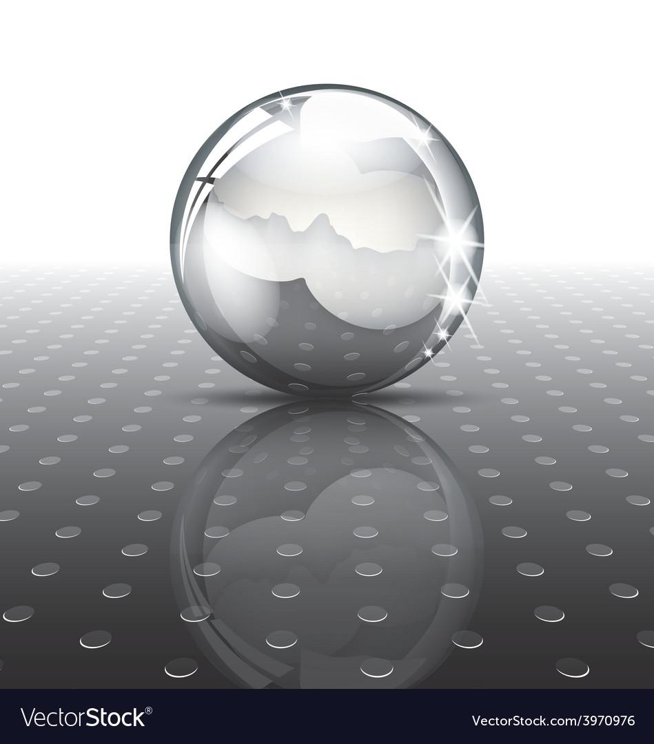Metal ball vector | Price: 1 Credit (USD $1)