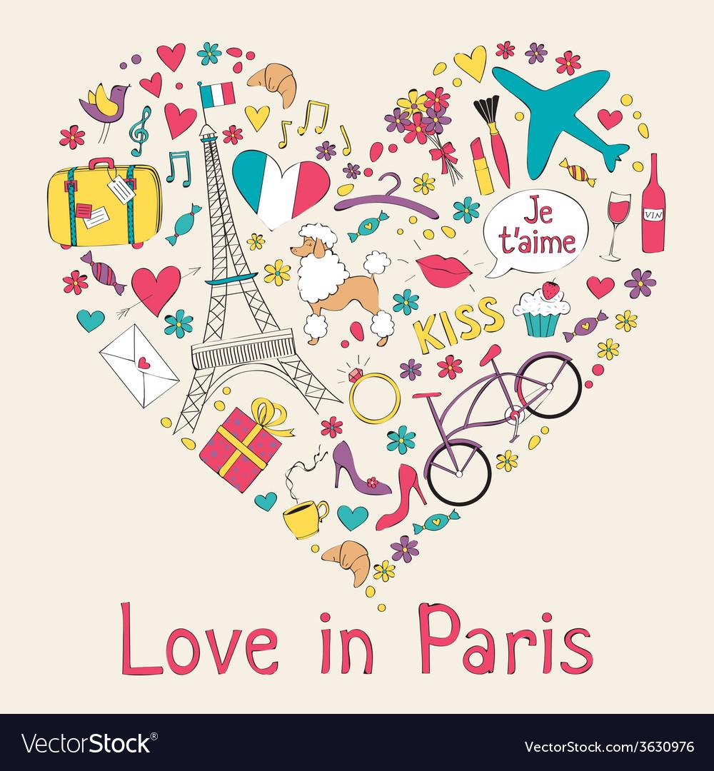Paris card vector   Price: 1 Credit (USD $1)