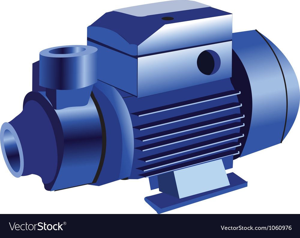 Water pump vector | Price: 1 Credit (USD $1)