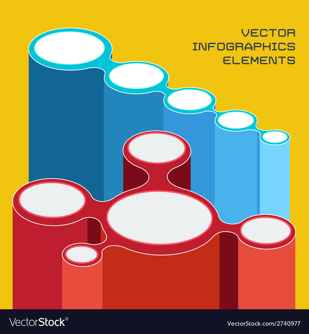 Infographics elements for presentation vector | Price: 1 Credit (USD $1)