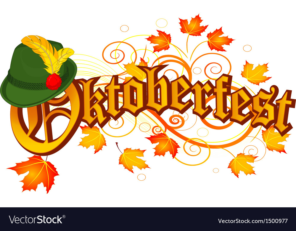 Oktoberfest celebration design vector | Price: 1 Credit (USD $1)