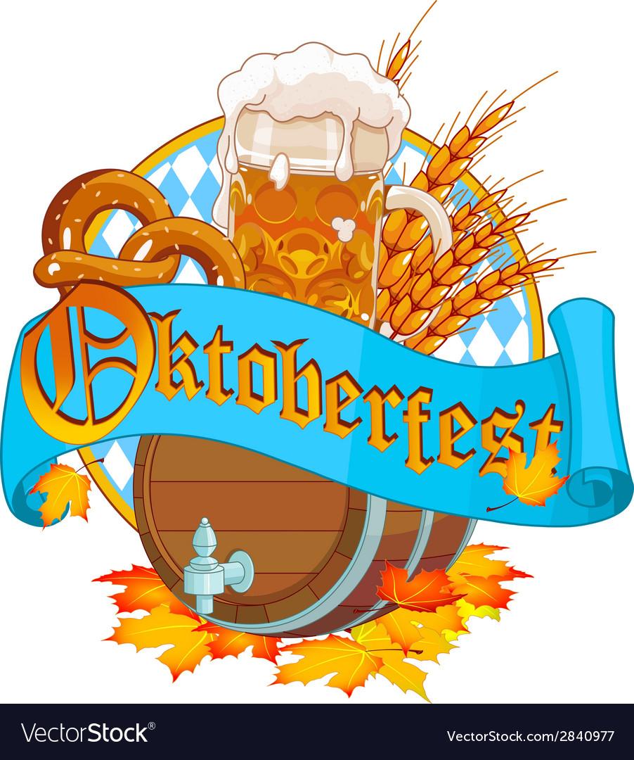 Oktoberfest image vector