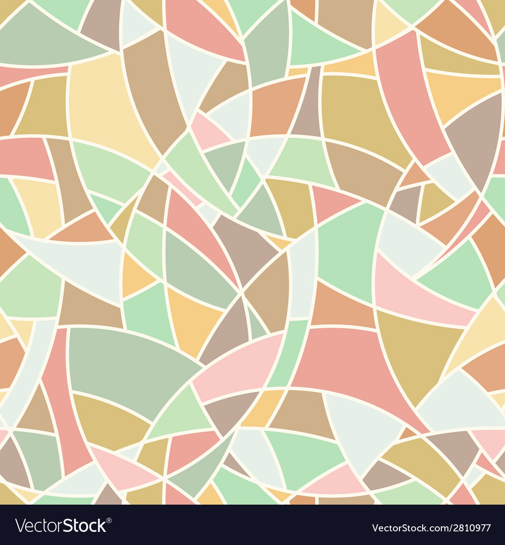 Seamless pattern  abstract mosaic simple texture vector