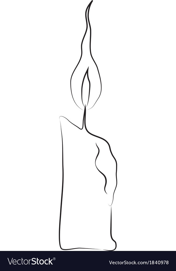Candle stick vector | Price: 1 Credit (USD $1)