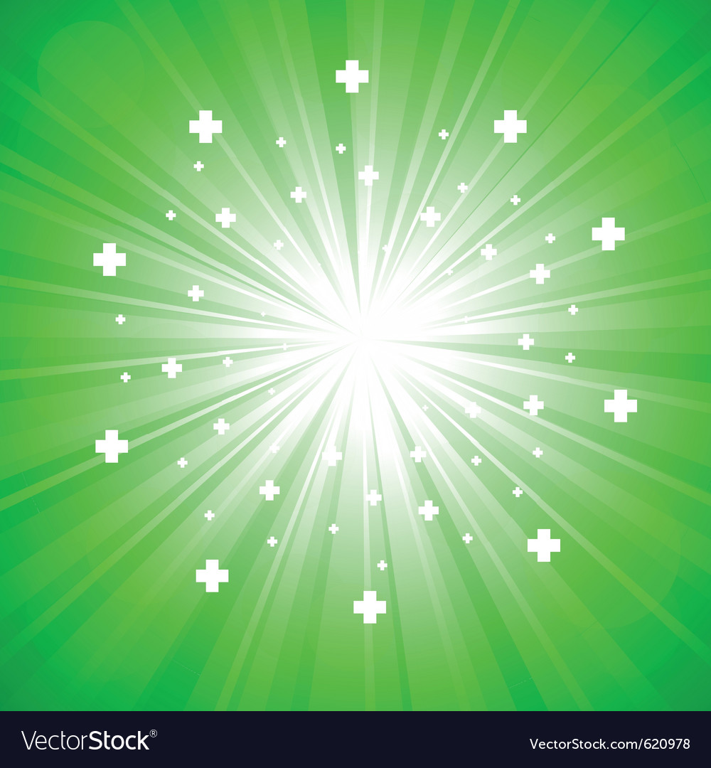 Green abstract explosion vector | Price: 1 Credit (USD $1)