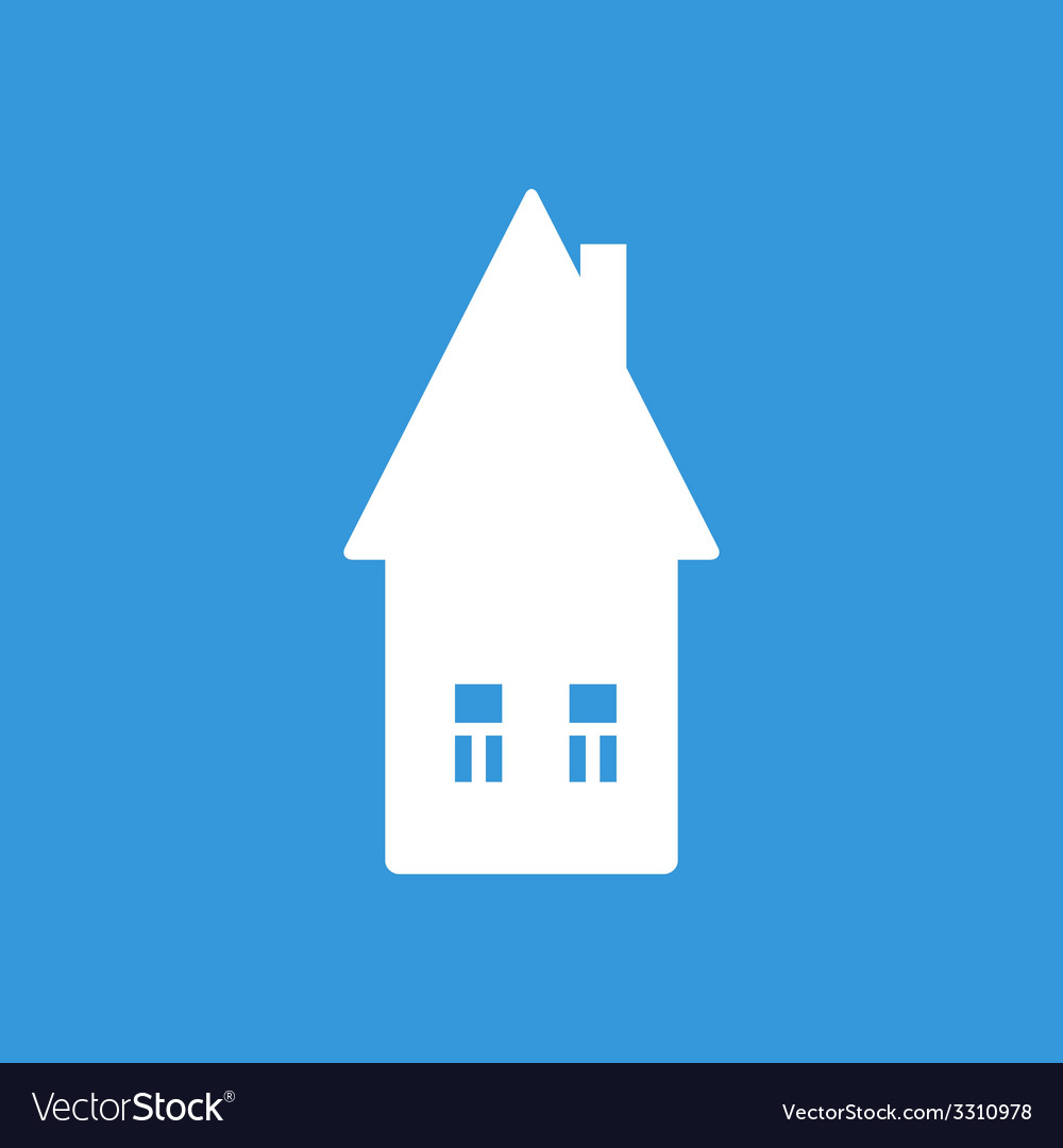 Home flat icon vector | Price: 1 Credit (USD $1)