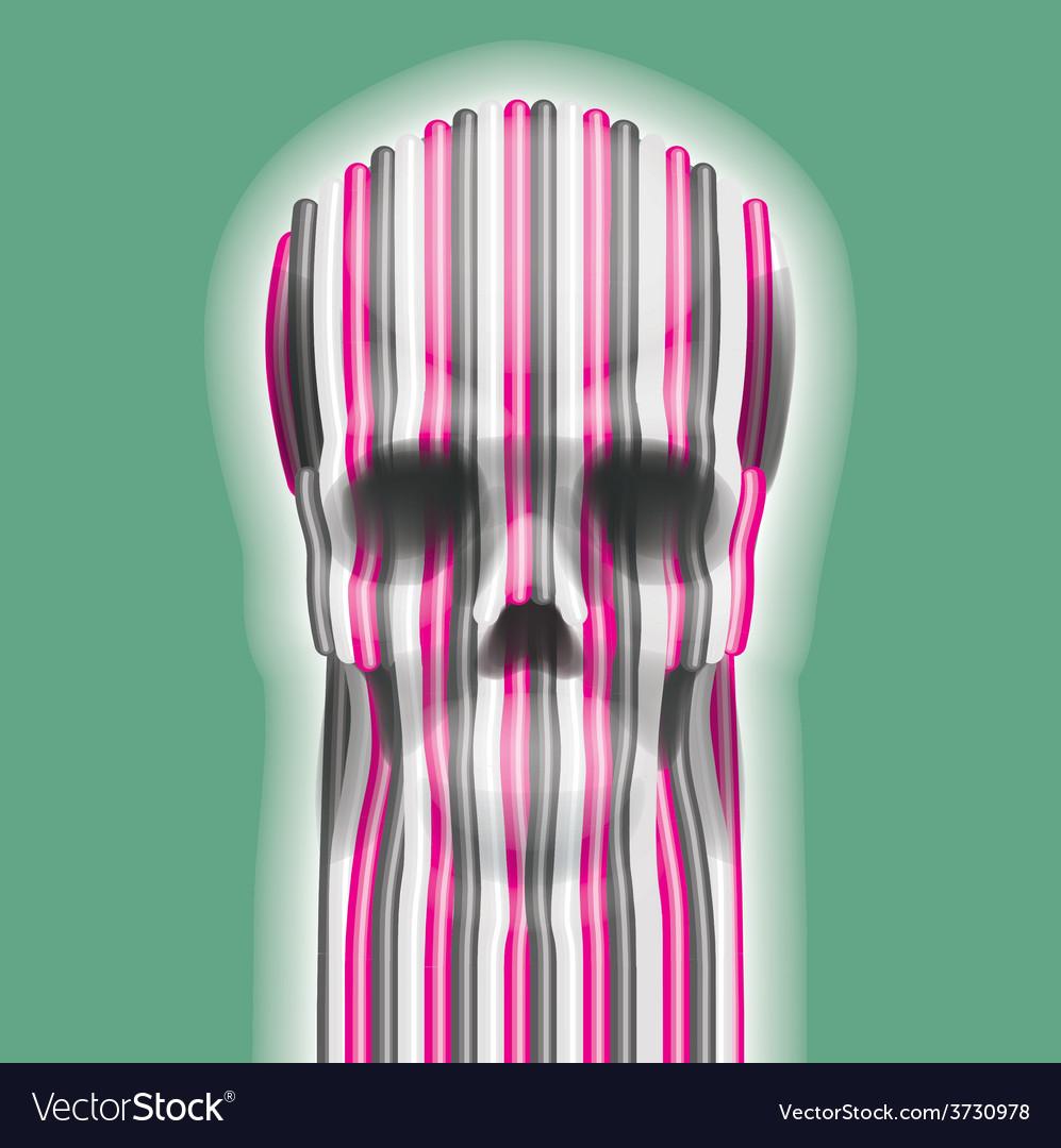 Skull art vector | Price: 1 Credit (USD $1)