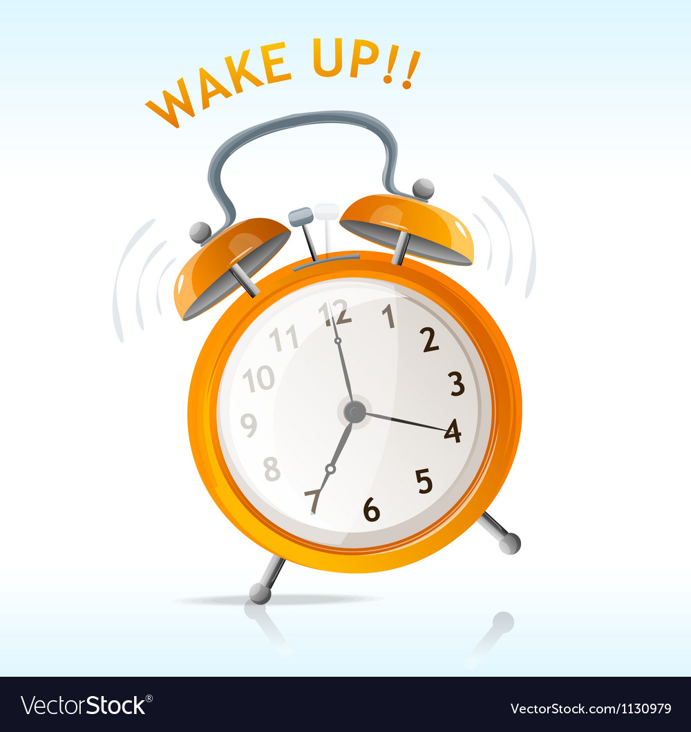Wake up message vector | Price: 1 Credit (USD $1)