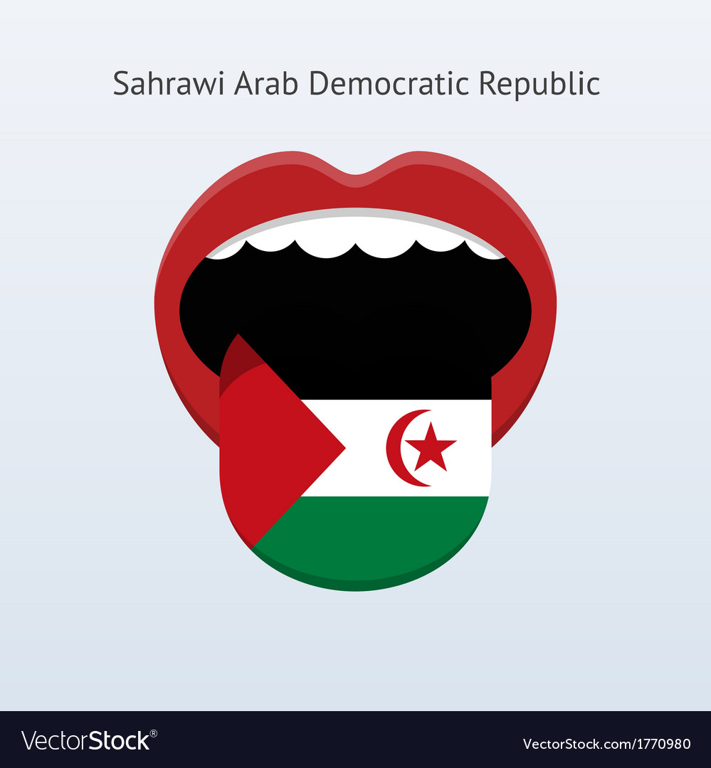 Sahrawi arab democratic republic language vector | Price: 1 Credit (USD $1)