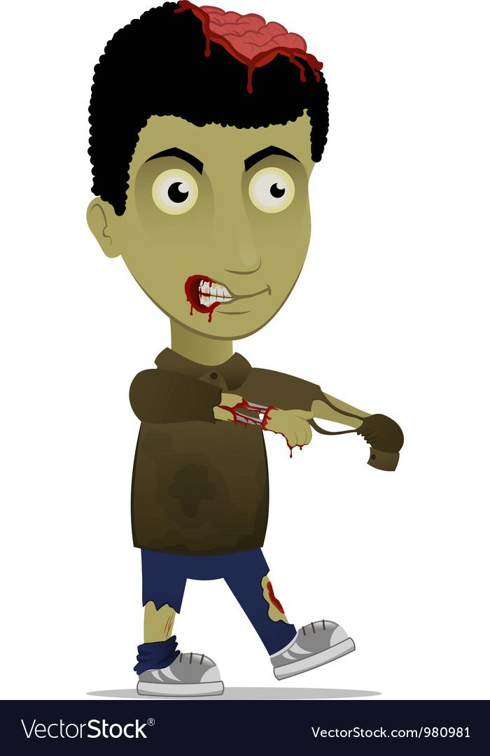 Cartoon zombie vector | Price: 3 Credit (USD $3)