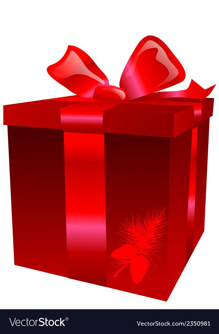 Christmas present vector | Price: 1 Credit (USD $1)