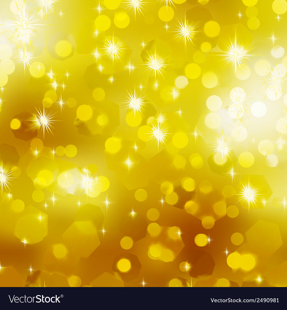 Glittery gold christmas background eps 8 vector | Price: 1 Credit (USD $1)