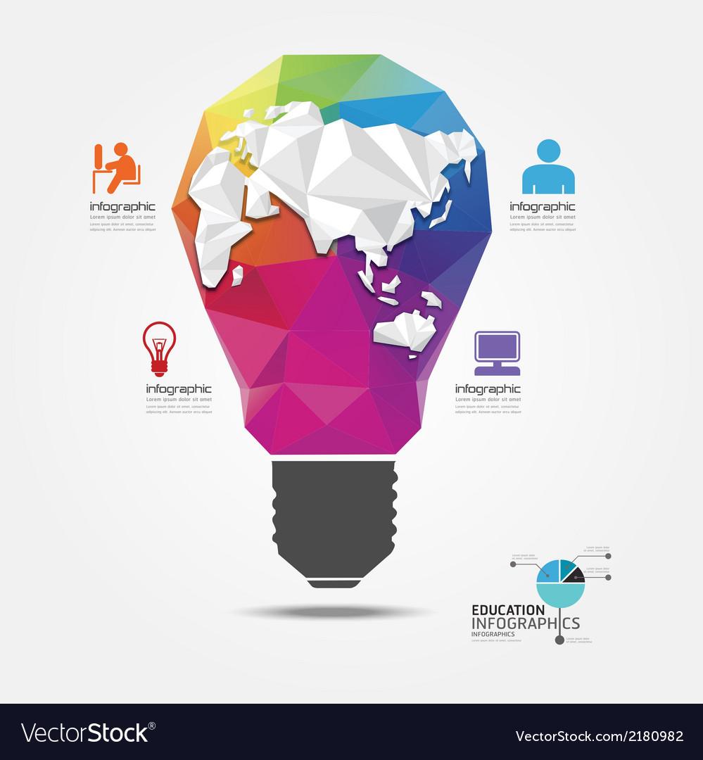Modern design light geometric style vector   Price: 1 Credit (USD $1)
