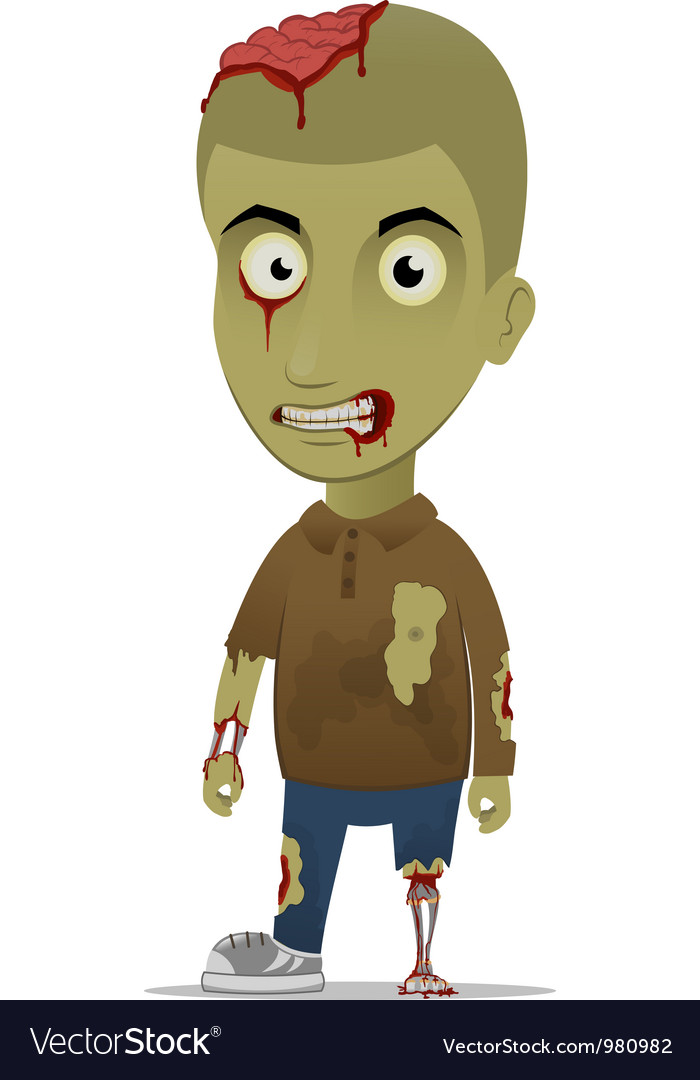 Zombie left vector | Price: 3 Credit (USD $3)