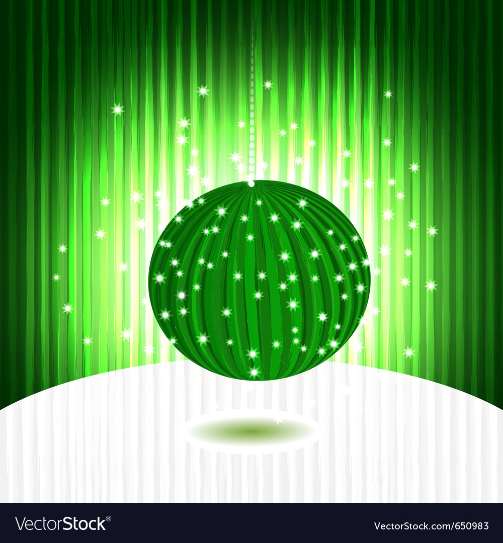 Ball on background vector | Price: 1 Credit (USD $1)
