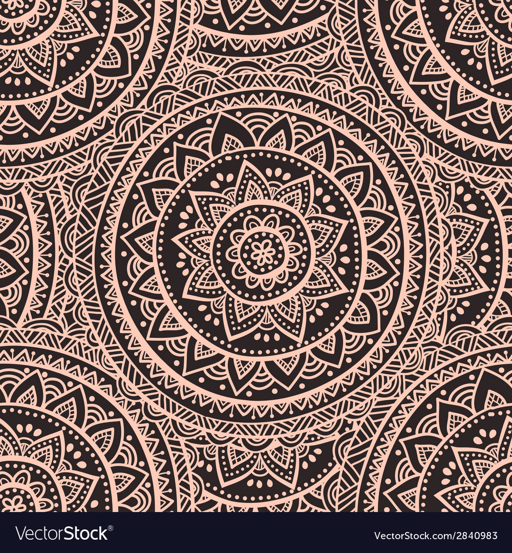 Beautiful indian paisley ornament vector | Price: 1 Credit (USD $1)