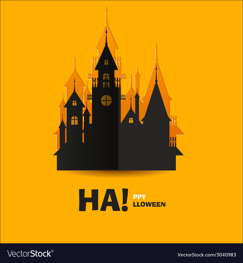 House of horrors or horrible castle vector   Price: 1 Credit (USD $1)
