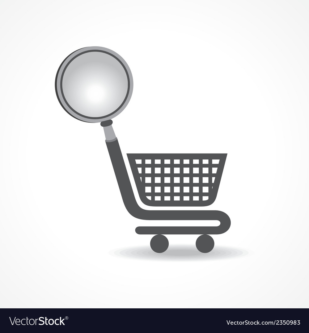 Searching for shopping concept vector | Price: 1 Credit (USD $1)