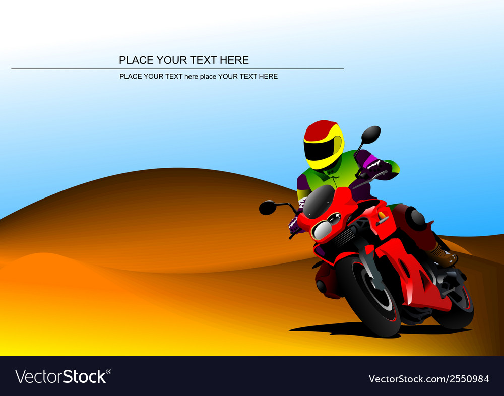 Al 0817 motorcycle vector | Price: 1 Credit (USD $1)