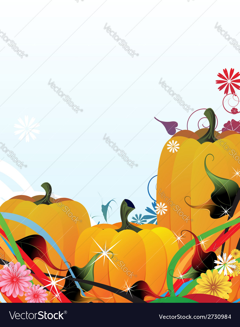 Fabulous pumpkins vector | Price: 1 Credit (USD $1)