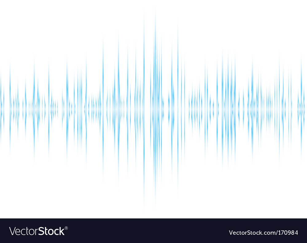 Music wave background vector | Price: 1 Credit (USD $1)