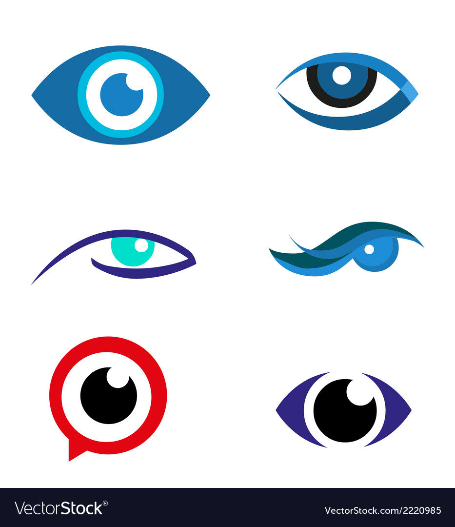 Eye logo icon download vector | Price: 1 Credit (USD $1)