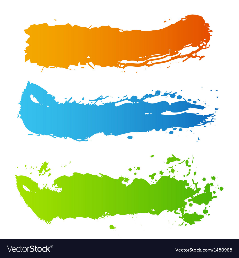 Grunge paint splash vector | Price: 1 Credit (USD $1)