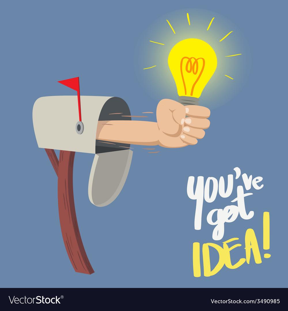 You have got idea vector | Price: 1 Credit (USD $1)