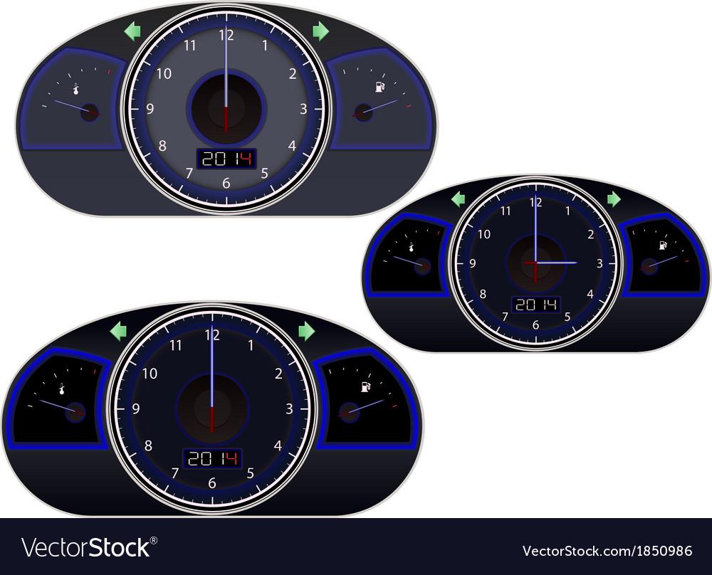 Clock-speedometr vector | Price: 1 Credit (USD $1)