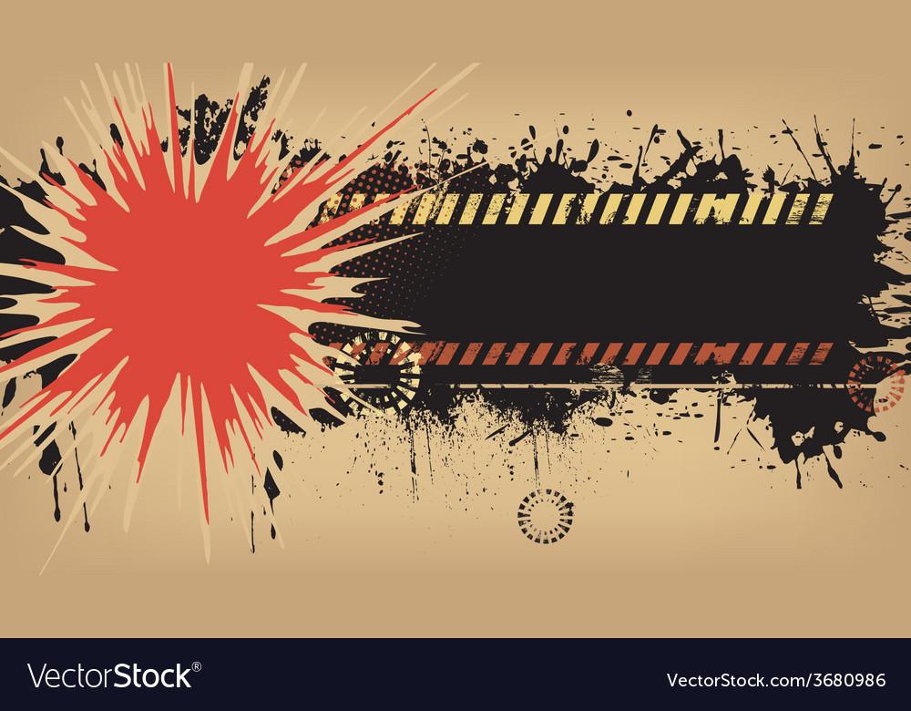 Grunge explosion background vector | Price: 1 Credit (USD $1)