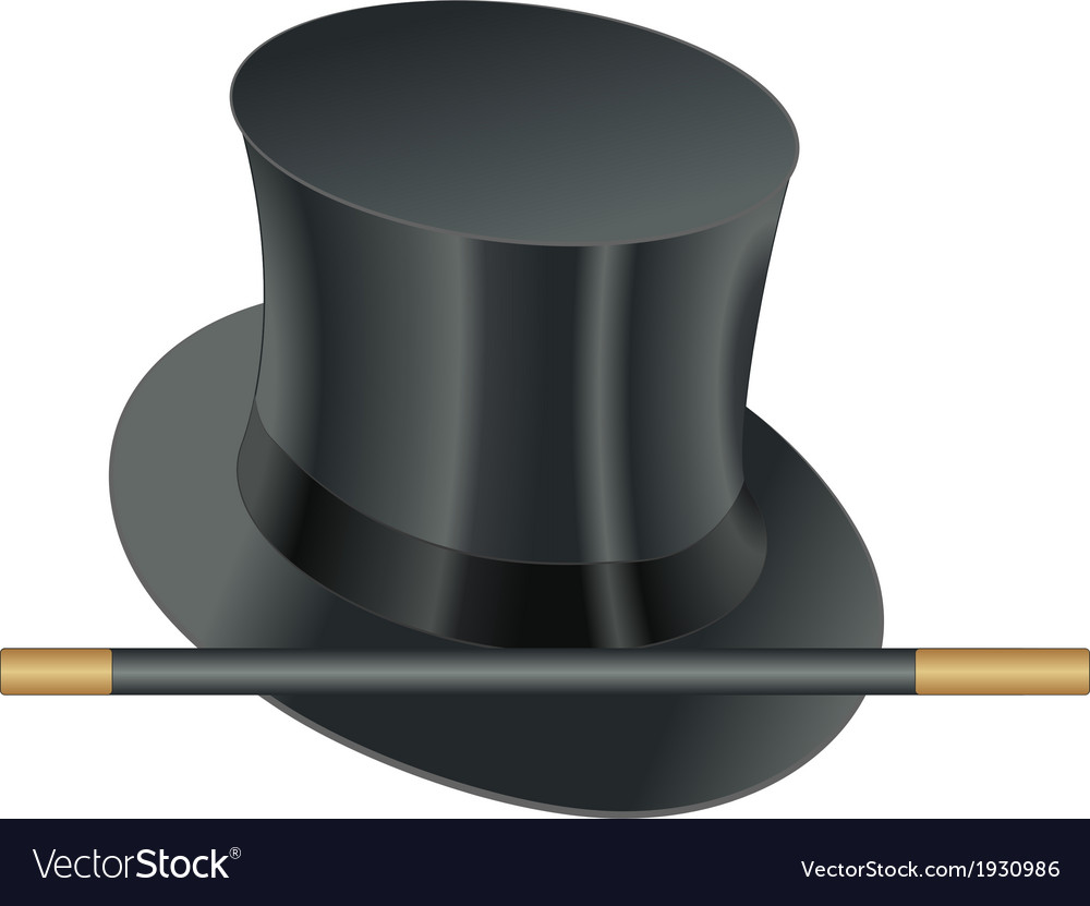 Hat wand vector   Price: 1 Credit (USD $1)