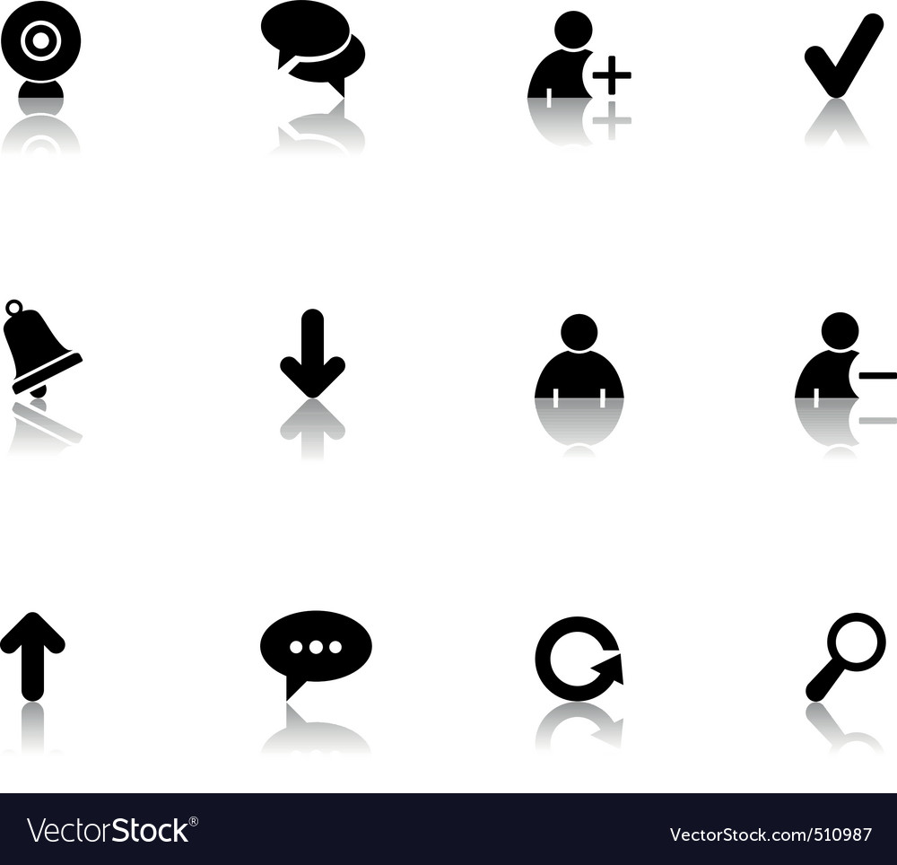 Chat icons vector | Price: 1 Credit (USD $1)