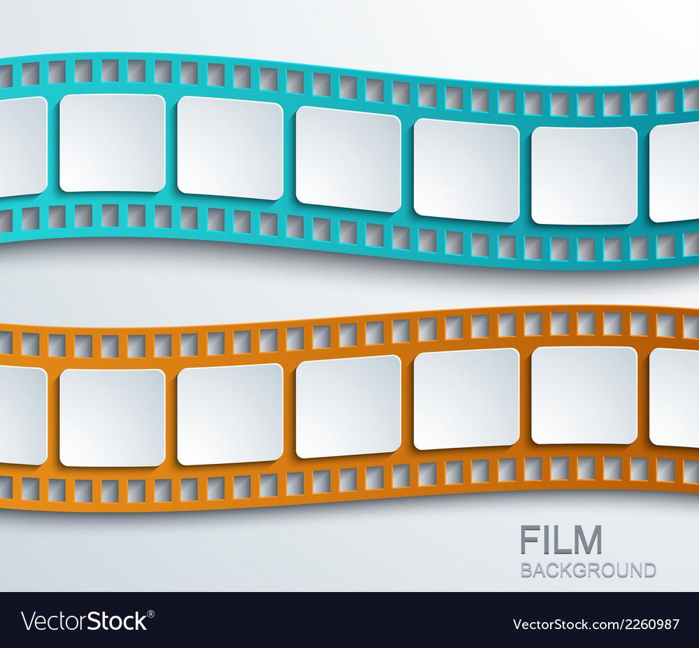 Modern film background vector | Price: 1 Credit (USD $1)