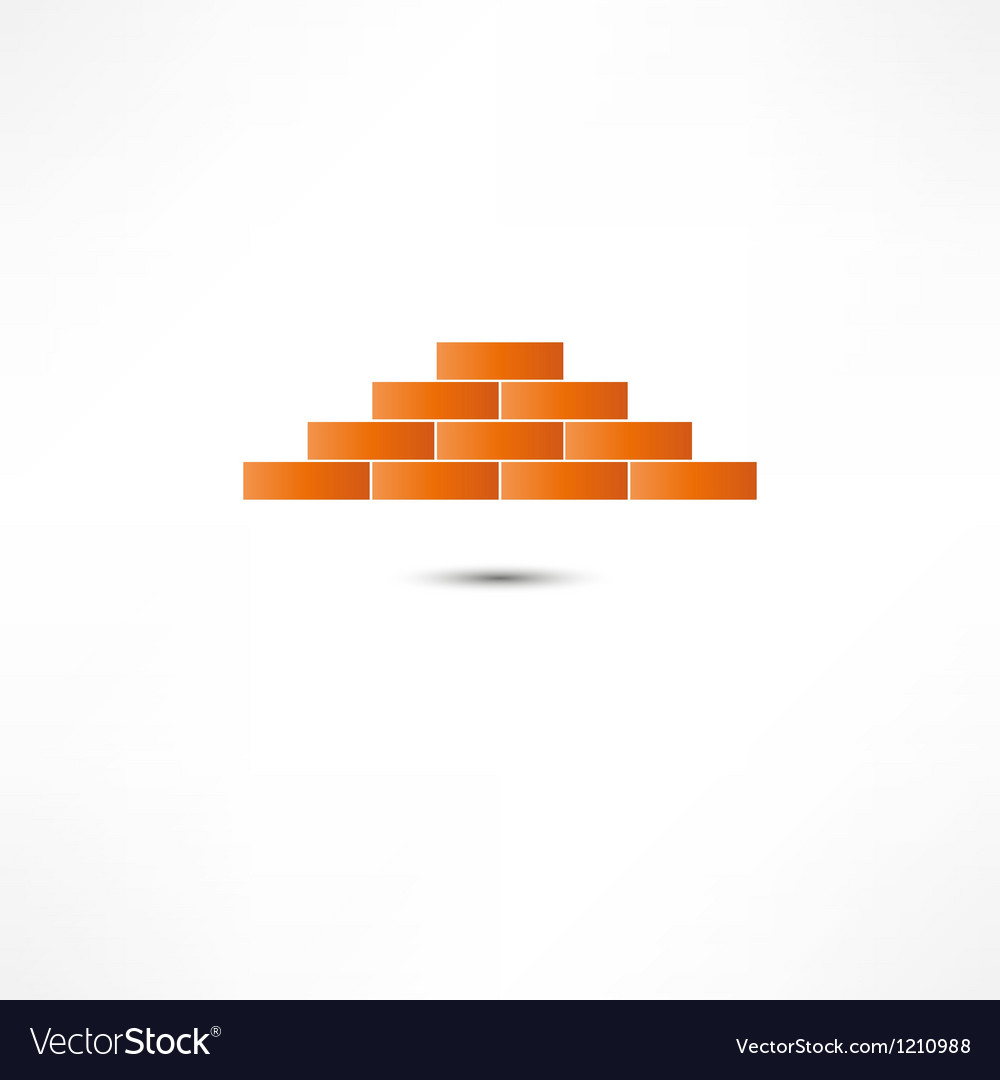 Brickwork icon vector | Price: 1 Credit (USD $1)