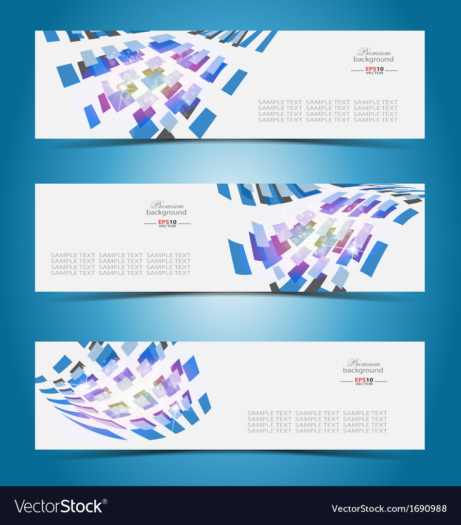 Elegant banner design template vector | Price: 1 Credit (USD $1)