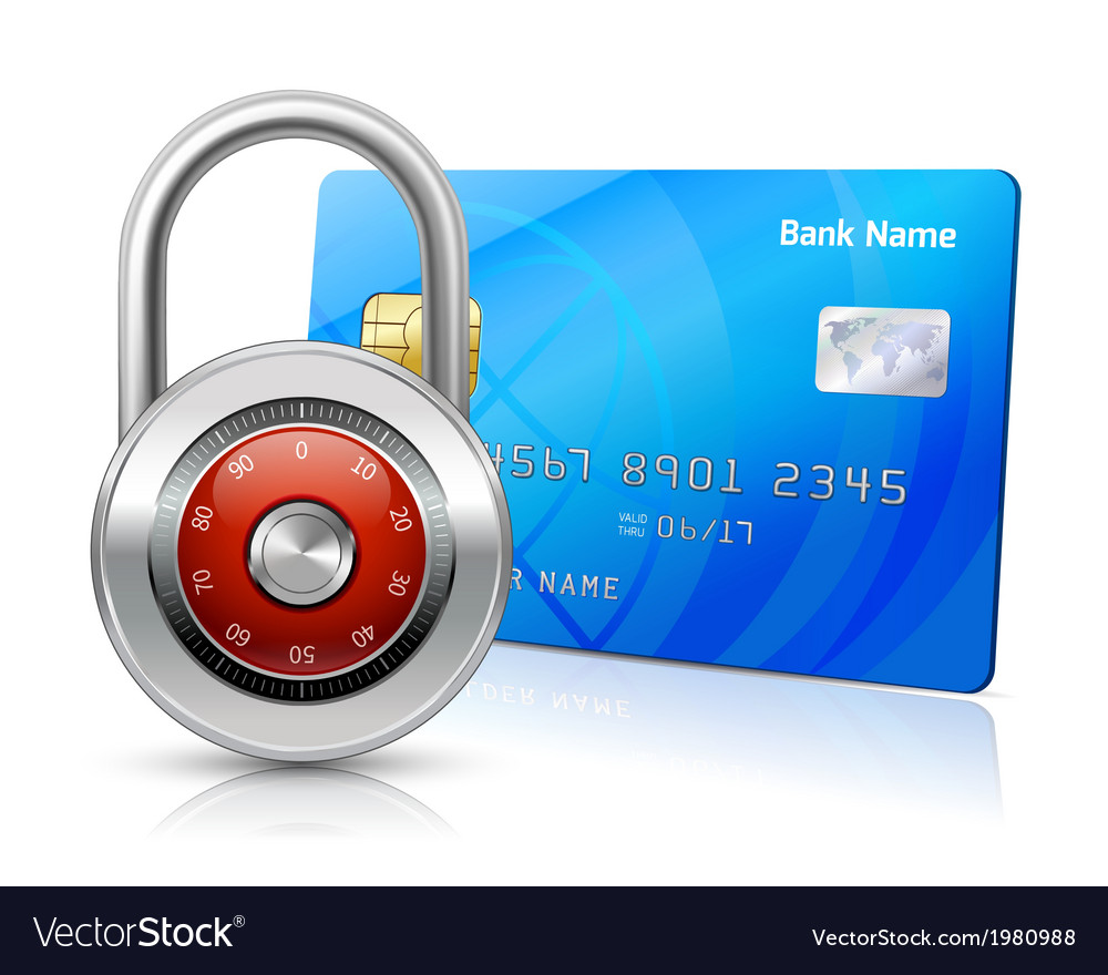 Online payments security concept vector | Price: 1 Credit (USD $1)