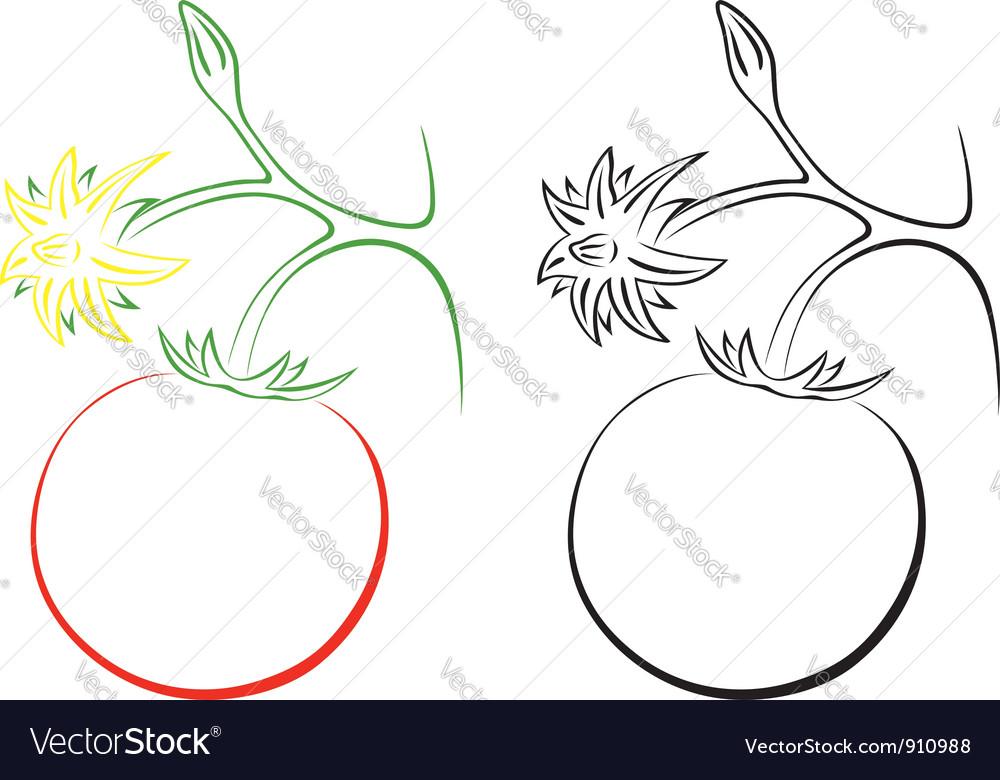 Tomato vector   Price: 1 Credit (USD $1)